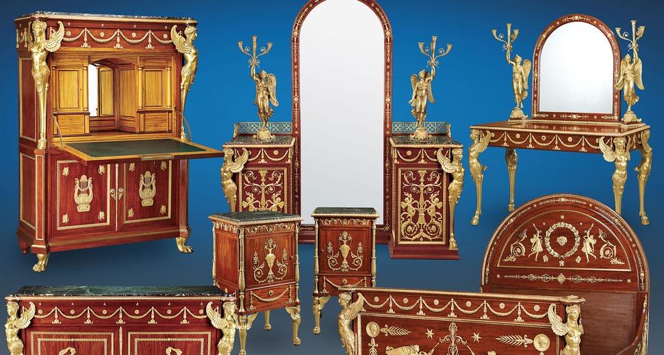 غرفة نوم الملك فاروق