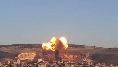 قصف تركي علي عفرين السورية