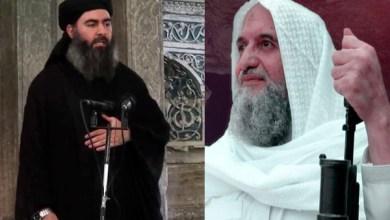 زعيم تنظيم القاعدة وابو بكر البغدادي