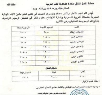 بالصور تعرف على مصاريف مدارس المسار المصري الحياة اليوم