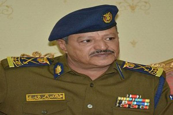 وزير الداخلية اليمني عبد الحكيم الماوري