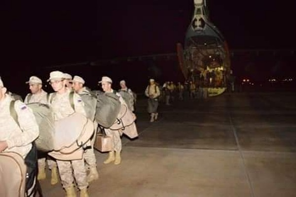 قوات الدفاع الجوي الروسية تصل مصر