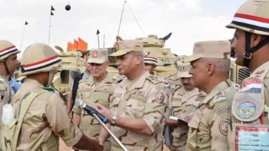 قائد الجيش المصري الفريق أول محمد زكى
