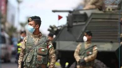 الجيش الاردني حظر التجوال