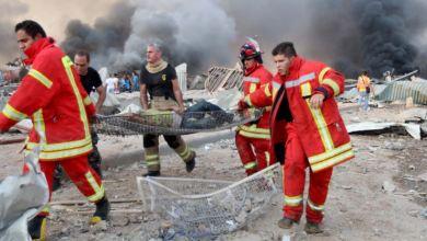 تفجير بيروت لبنان