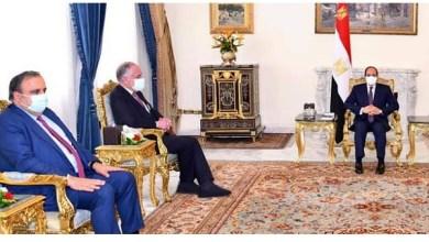شاهد صور الرئيس السيسي يبحث مع رئيس الكونجرس اليهودي العلاقات الثنائية