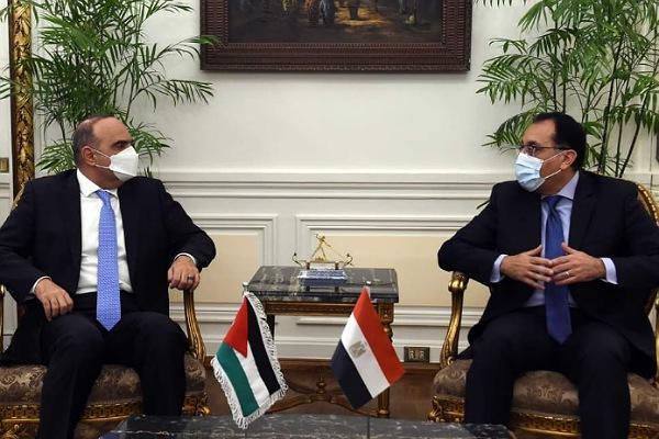مباحثات رئيس وزراء الأردن مع رئيس وزراء مصر