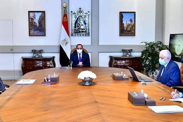اجتماع الرئيس بوزير التربية والتعليم