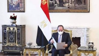 رسالة أمير الكويت إلى الرئيس السيسي