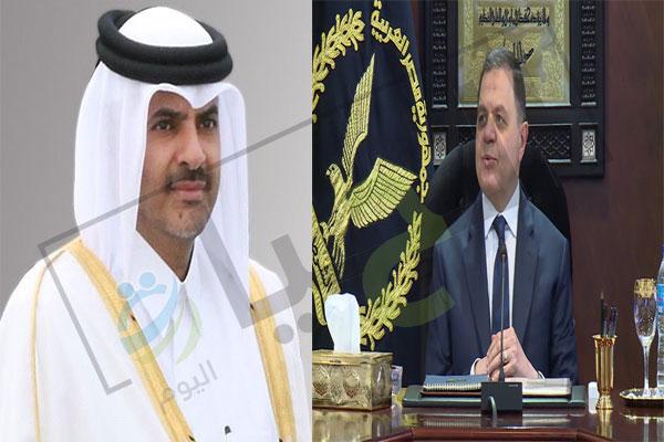 وزير الداخلية القطري ونظيره المصري