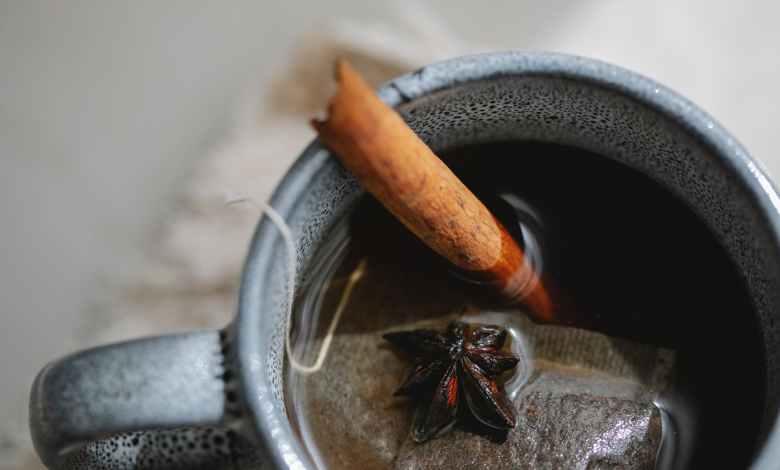قرقة ينسون شاي مشروب