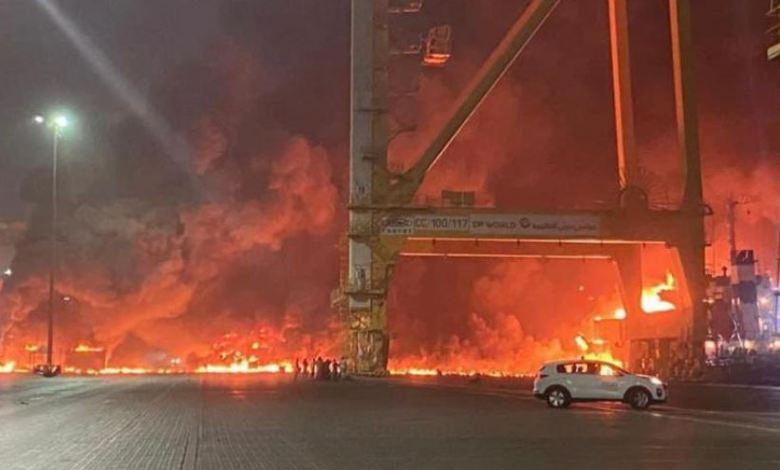 انفجار دبي