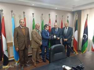 , اجتماعات مكثفة بين الزرقاء الأهلية و الاكاديمية العربية للعلوم والتكنولوجيا والنقل البحري في القاهرة