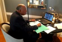 Photo of بيان جمهورية مصر العربية الذي ألقاه وزير الخارجية أمام الجلسة العلنية لمجلس الأمن لمناقشة الوضع في الشرق الأوسط
