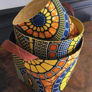 Cache Pots/paniers en wax