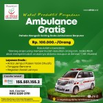 Wakaf Produktif Pengadaan Ambulance Gratis