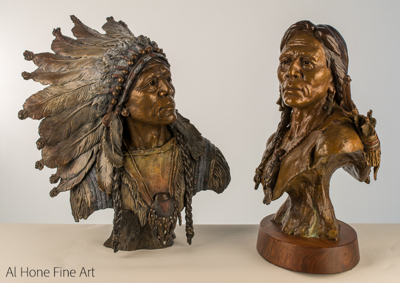 Al Hone Sculpture Native American