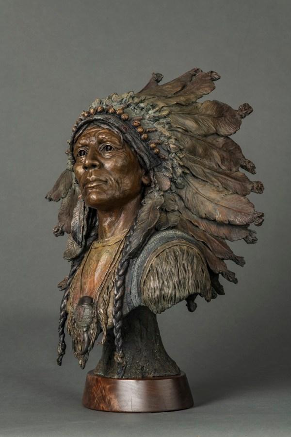 Native American Bronze Sculptures