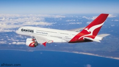 شاهد: لحظة عبور طائرة أمام قرص الشمس - صحيفة هتون الدولية