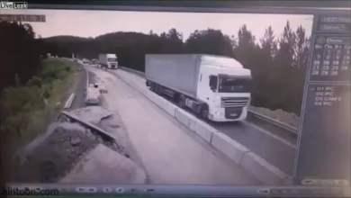 شاهد: حادث مروع في روسيا - صحيفة هتون الدولية