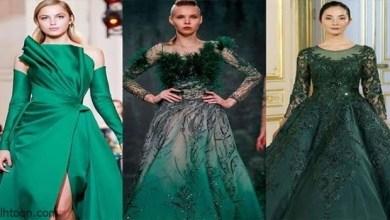 أجمل إطلالات اللون الأخضر الجذاب