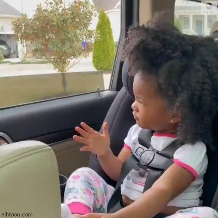 شاهد: ردة فعل طفلة ودعها جدها - صحيفة هتون الدولية