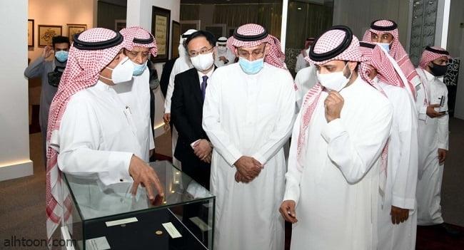 مكتبة الملك عبدالعزيز تدشن معرضها للخط العربي