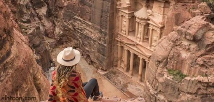 مدينة البتراء من أشهر وأجمل المعالم الأثرية في العالم -صحيفة هتون الدولية