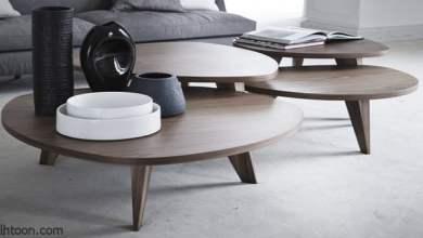 تزيين وديكور طاولات القهوة في غرفة المعيشة- صحيفة هتون الدولية