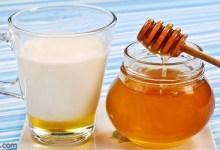 فوائد مذهلة للحليب مع العسل -صحيفة هتون الدولية