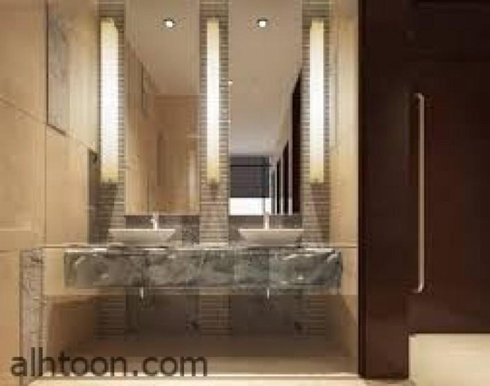تصاميم فائقة الروعة من مرايات الحمامات  -صحيفة هتون الدولية