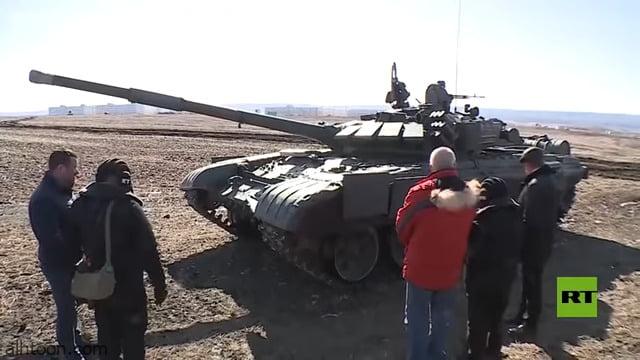 شاهد: سيدة تبلغ 100 عام تقود دبابة - صحيفة هتون الدولية