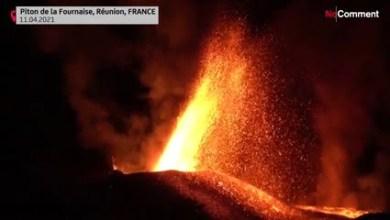 شاهد: انفجار بركان بجزيرة فرنسية - صحيفة هتون الدولية