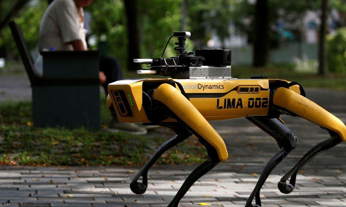 شاهد: كلب روبوت مع الشرطة الأمريكية - صحيفة هتون الدولية