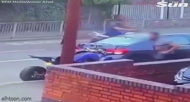 شاهد: حادث دباب مروع - صحيفة هتون الدولية