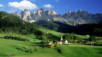 اجمل مناظر طبيعية خلابة في ايطاليا -صحيفة هتون الدولية-