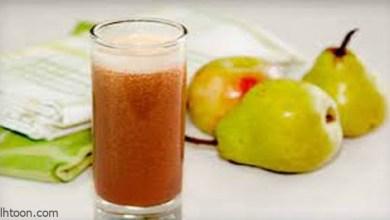 فوائد عصير الكمثرى -صحيفة هتون الدولية