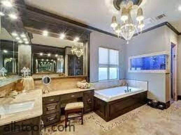 تزيين الحمام ليصبح حمام مودرن انيق -صحيفة هتون الدولية