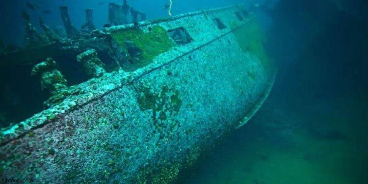 شاهد: سفن غارقة من الحرب العالمية الثانية - صحيفة هتون الدولية