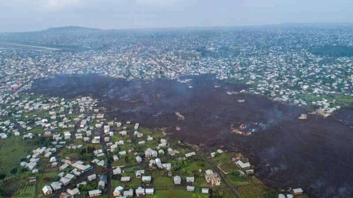 شاهد: قرى الكونغو تحت الحمم البركانية - صحيفة هتون الدولية