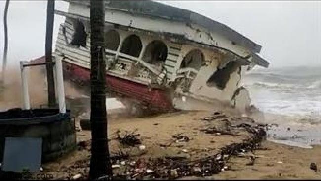 شاهد: اعصار يدمر الهند - صحيفة هتون الدولية