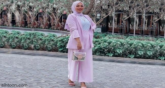 إطلالات مميزة للمحجبات في العيد