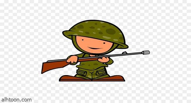 جندي على الجبهة