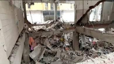 شاهد: تدمير حي بسبب اسطوانة غاز - صحيفة هتون الدولية