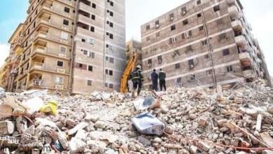 شاهد: سقوط عمارة من 5 أدوار - صحيفة هتون الدولية