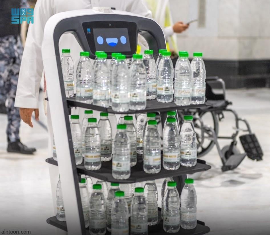 شاهد: روبوت ذكي في الحرم - صحيفة هتون الدولية