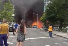 فيديو: حريق سيارة في نيويورك - صحيفة هتون الدولية