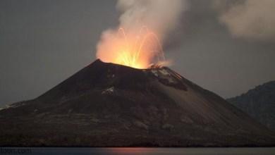 شاهد: ثوران بركان إنتا - صحيفة هتون الدولية