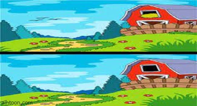 العاب اكتشاف الفرق بين الصورتين صعبة -صحيفة هتون الدولية