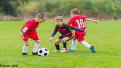 لعبة كرة القدم للأطفال -صحيفة هتون الدولية